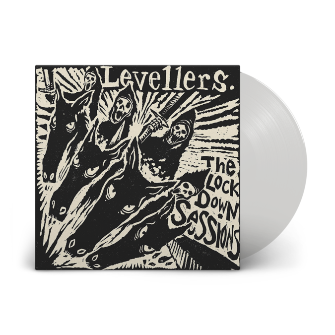 Levellers: The Lockdown Sessions: Recordstore Exclusive Clear Vinyl LP + DVD