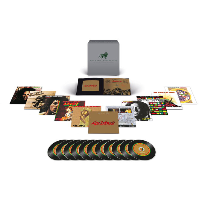 Bob Marley and The Wailers: The Complete Island Recordings Box Set