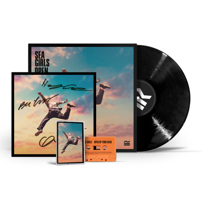 Sea Girls: Open Up Your Head Vinyl Bundle
