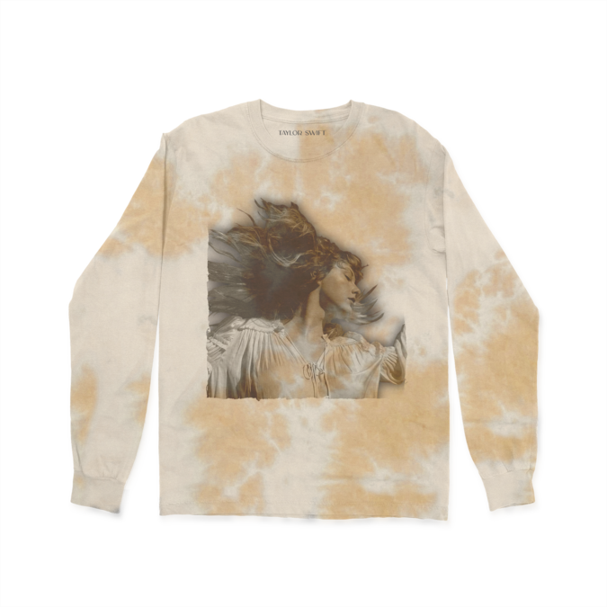 Taylor Swift: Album Cover Tie Dye