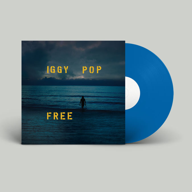 Iggy Pop: Free – Limited Edition Sea Blue Vinyl