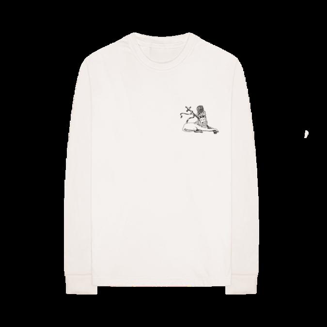 Bob Marley: Lion Applique Long Sleeve Shirt S