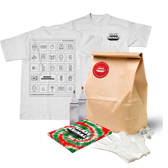 Glass Animals: Holiday Tie Dye Kit