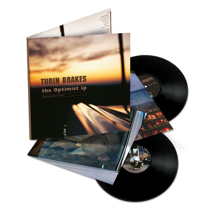 Turin Brakes: The Optimist LP: Black Vinyl 2LP