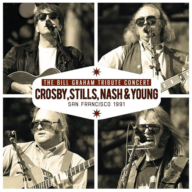 Crosby, Stills, Nash & Young: Bill Graham Tribute