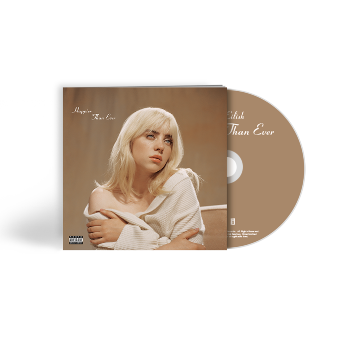 Billie Eilish: 'Happier Than Ever' CD Photobook