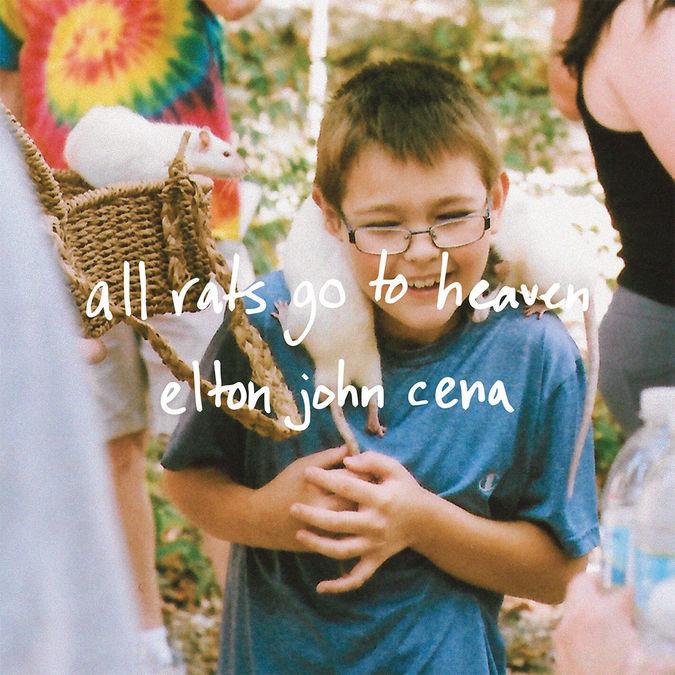 Elton John Cena: All Rats Go To Heaven: Limited Edition Colour 7
