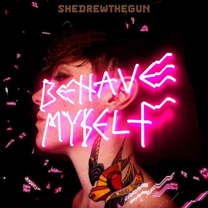 She Drew The Gun: Behave Myself: Limited Edition Orange Vinyl LP