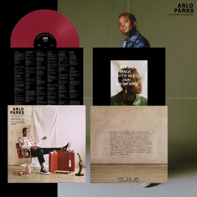 Arlo Parks: Collapsed In Sunbeams: 180gm Deep Red Vinyl