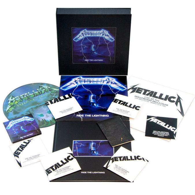 Metallica: Ride The Lightning - Remastered Deluxe Boxset