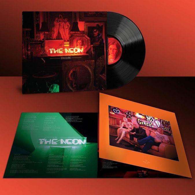 Erasure: The Neon: Black Vinyl