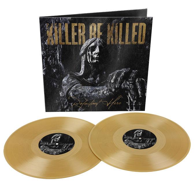 Killer Be Killed: Reluctant Hero: Limited Edition Gatefold Double Gold Vinyl