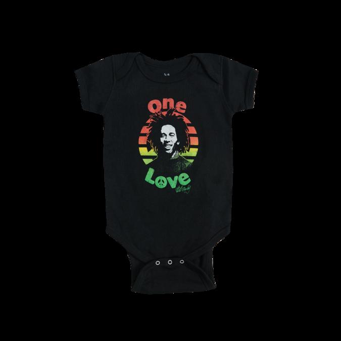 Bob Marley: Peace Baby Onesie - 6M