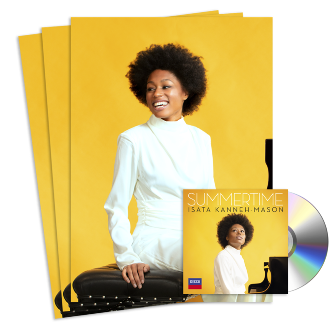 Isata Kanneh-Mason : Summertime: Signed CD + Signed Print Bundle