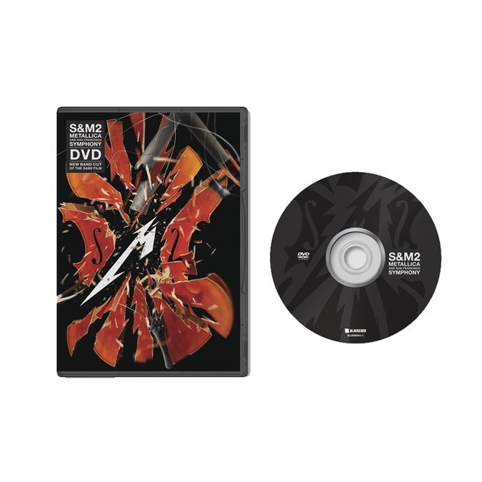 Metallica: S&M2: DVD + Exclusive 12x12
