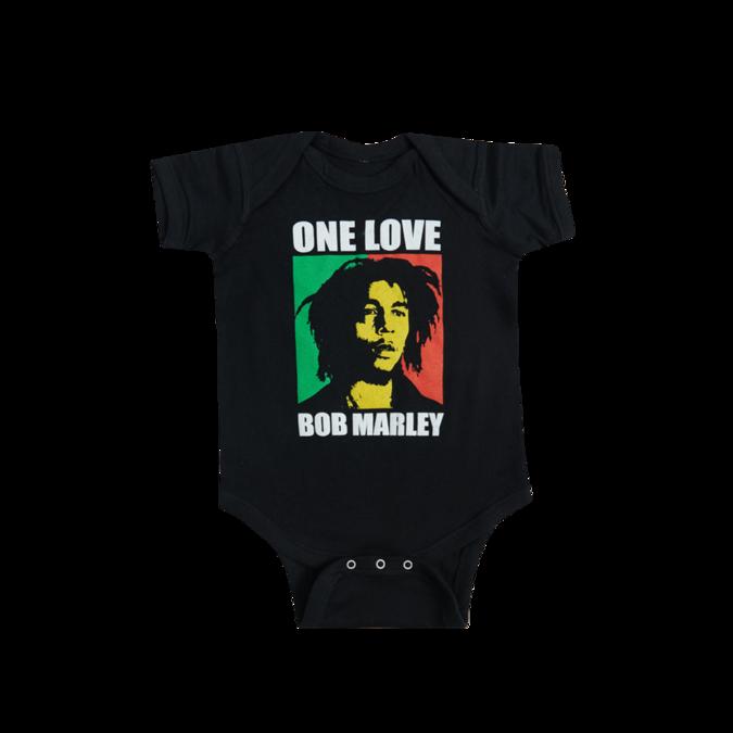 Bob Marley: One Love Baby Onesie - 6M