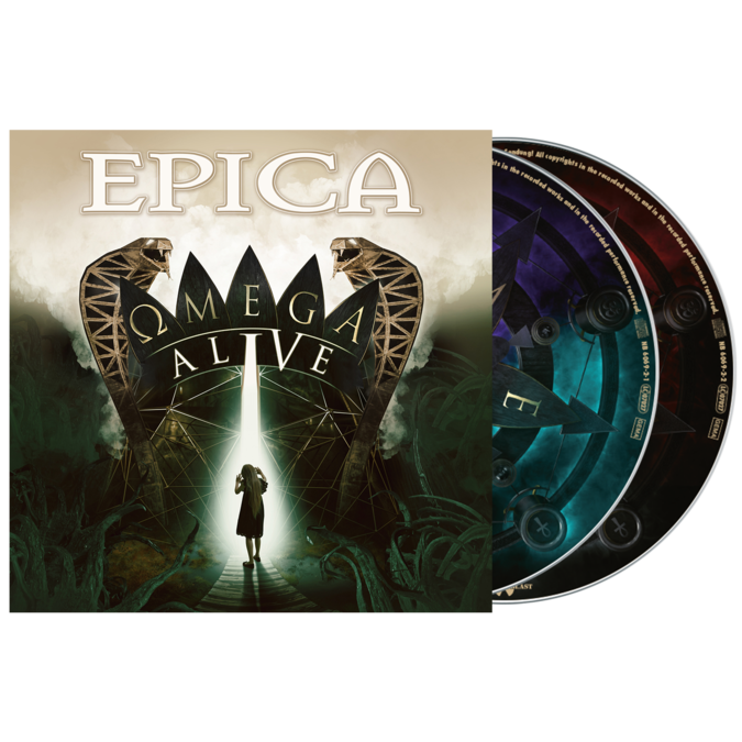Epica: Omega Alive: 2CD Digipack + SIGNED PHOTOCARD