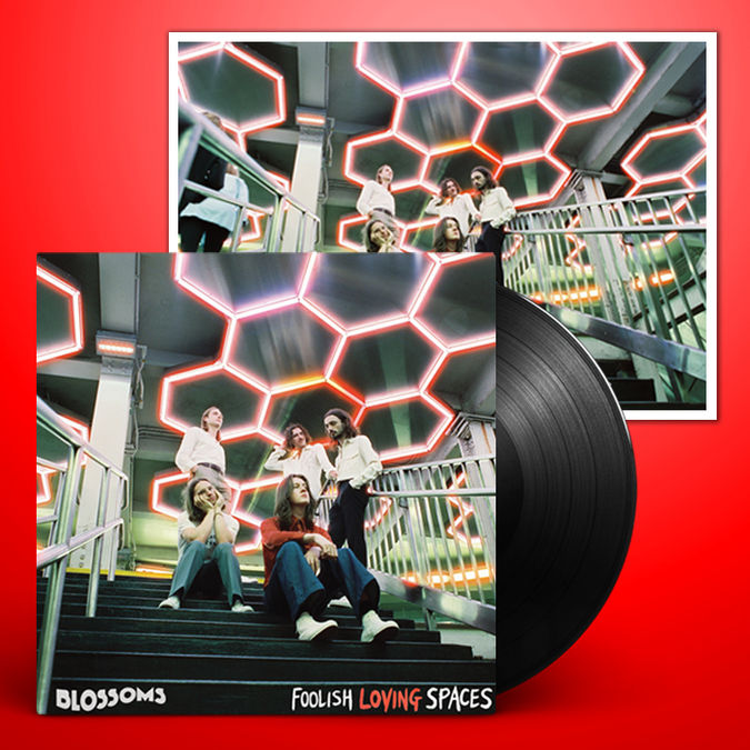 Blossoms: Foolish Loving Spaces Signed LP + Print