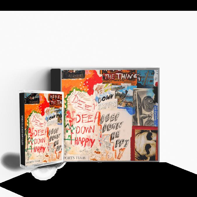 Sports Team: Deep Down Happy: CD + Cassette