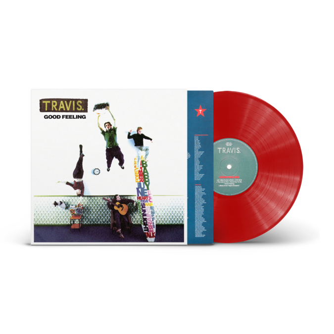 Travis: Good Feeling: Limited Edition Red Vinyl