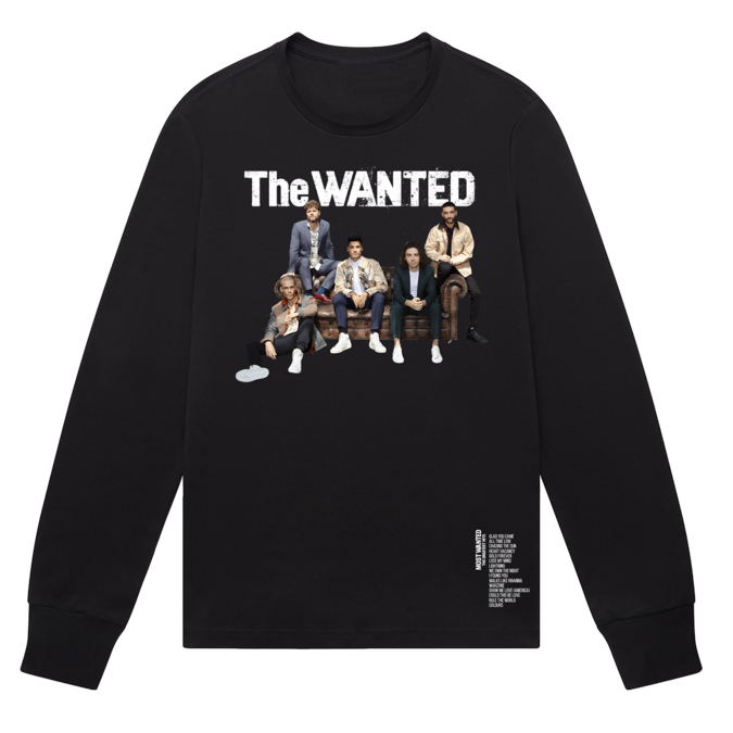 The Wanted: Most Wanted Tracklist Crewneck