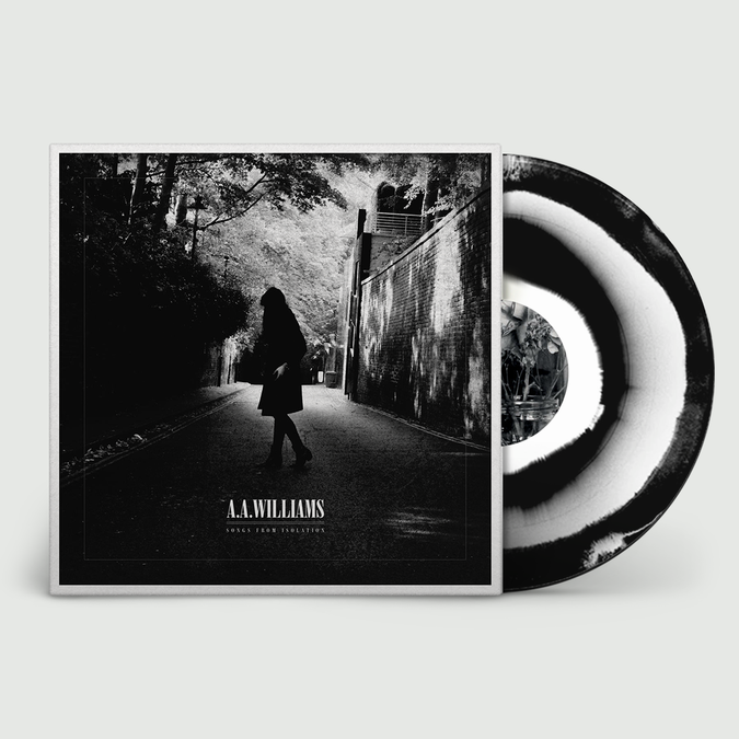 A.A. Williams : Songs From Isolation: Swirl Vinyl + Signed Print