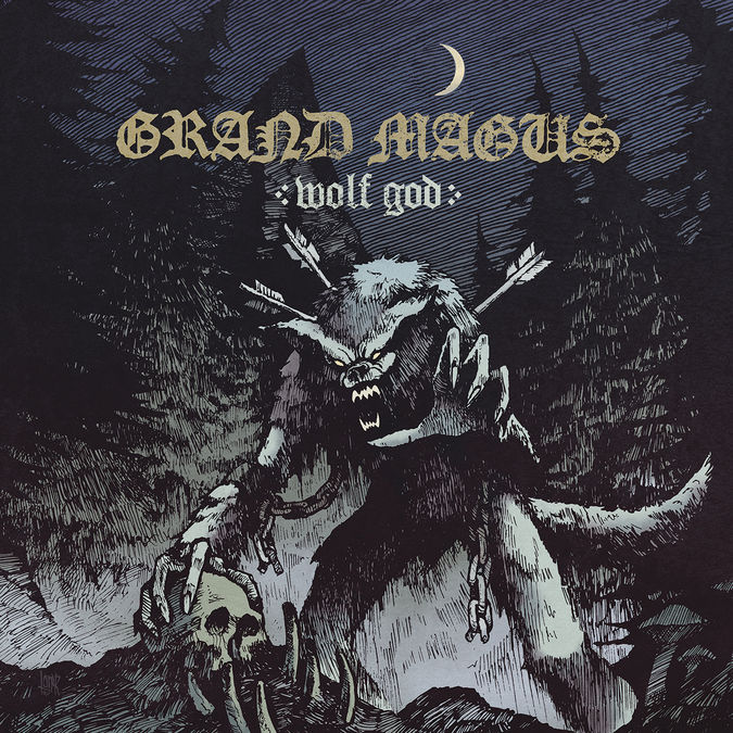 Grand Magus: Wolf God: CD