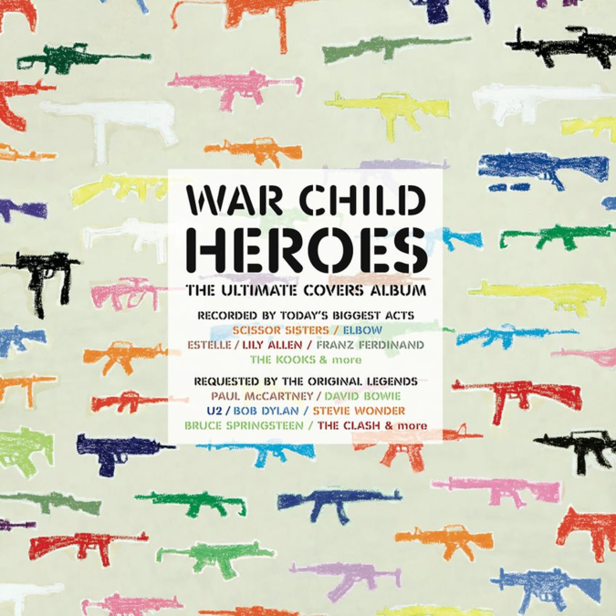 Various Artists: War Child Presents Heroes: Black Vinyl 2LP