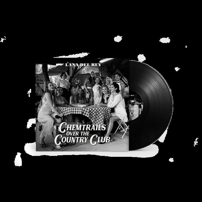 Lana Del Rey: Chemtrails Over The Country Club Gatefold Black Vinyl