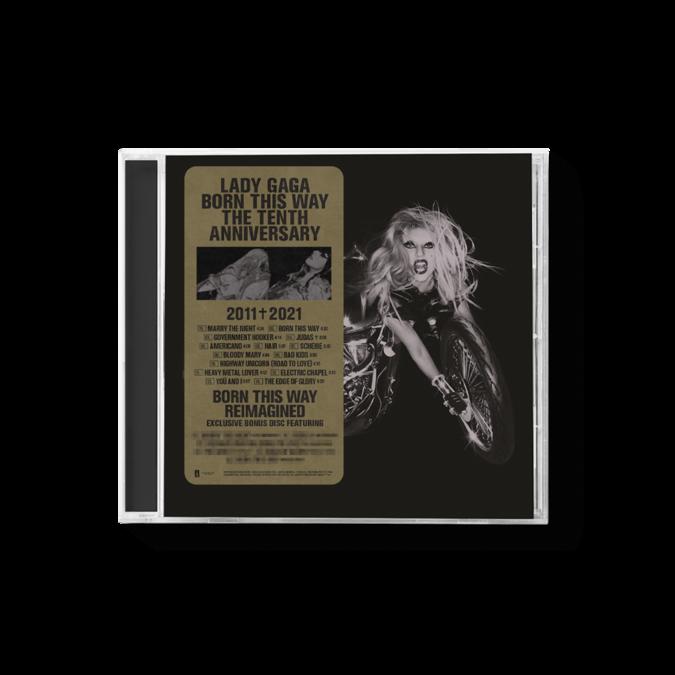 Lady Gaga: Born This Way 10th Anniversay: 2CD