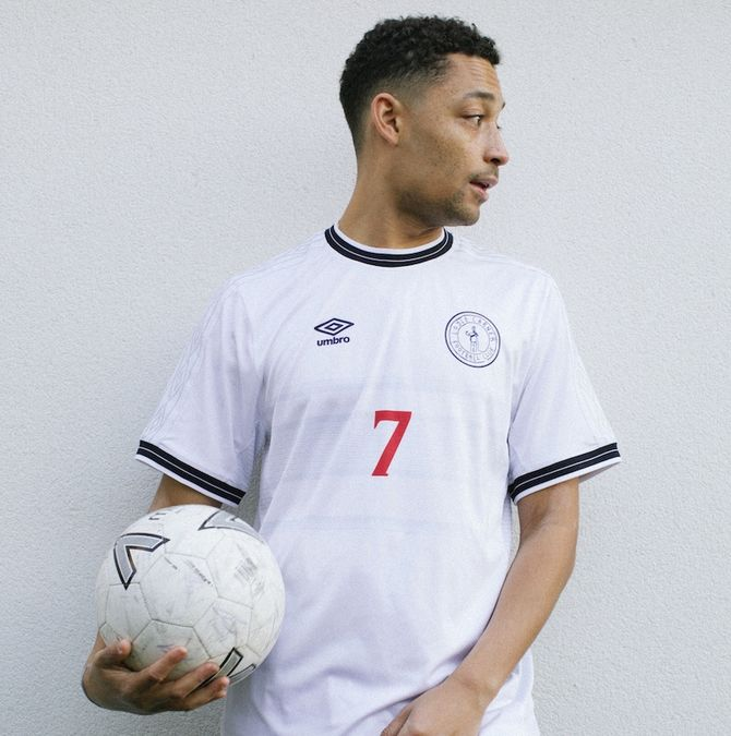 Loyle Carner: Umbro X Loyle Carner Football Jersey + Digital Album