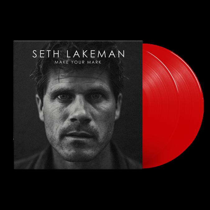Seth Lakeman: Make Your Mark: Red  Vinyl LP
