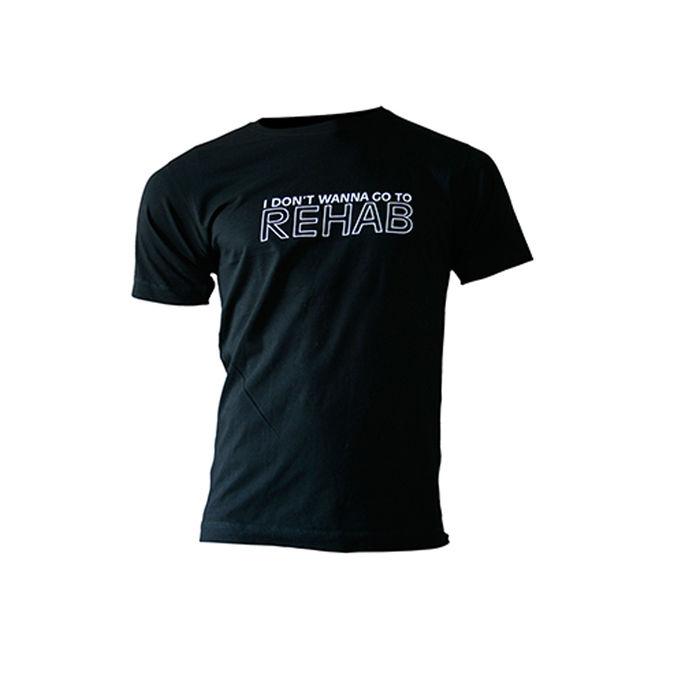 Amy Winehouse: Rehab Mens T-Shirt