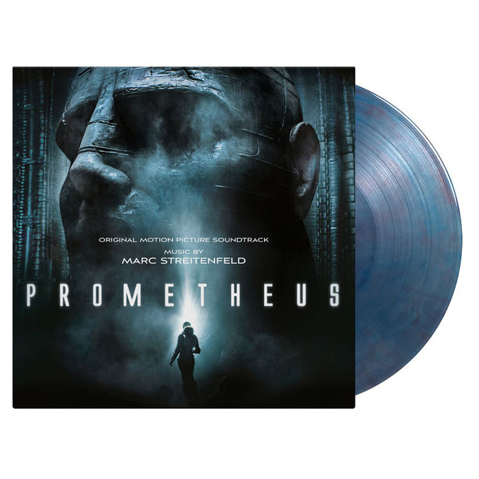 Original Soundtrack: Prometheus: Limited Edition Marbled Blue Vinyl + Litho Print