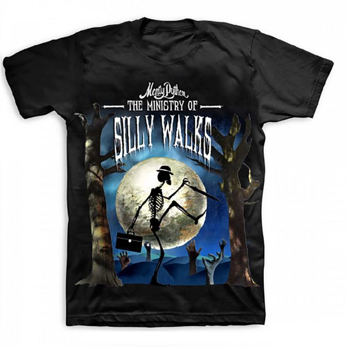 Monty Python: Ministry Of Silly Walks Halloween T-Shirt