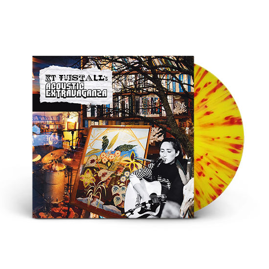KT Tunstall: KT Tunstall's Acoustic Extravaganza: Yellow + Red Splatter Vinyl