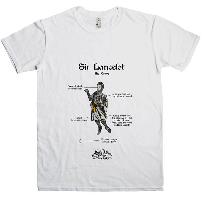 Monty Python: Holy Grail Sir Lancelot T-Shirt