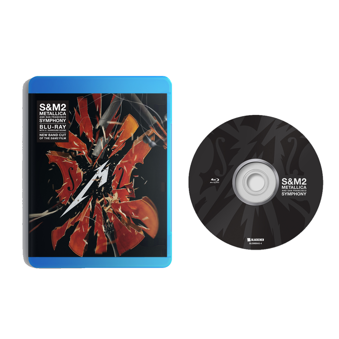 Metallica: S&M2: Blu-Ray + Exclusive 12x12