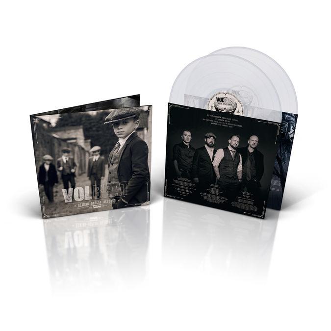 Volbeat: Rewind, Replay, Rebound: Exclusive Clear Vinyl