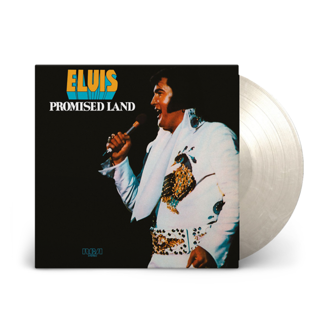 Elvis Presley: Promised Land: Limited Edition Clear + White Marble Vinyl LP
