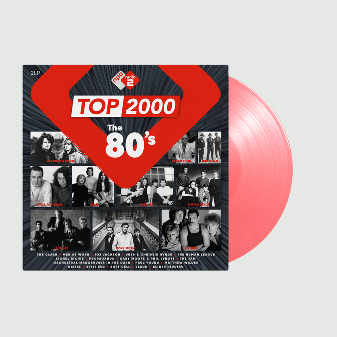 Various Artists: Top 2000 - The 80s Radio 2: Limited Edition Pink Vinyl