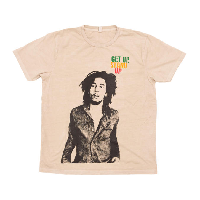 Bob Marley: Get Up Stand Up Distressed Tee