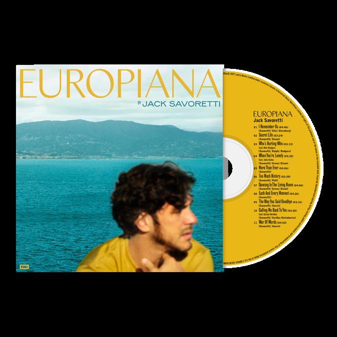 Jack Savoretti: Europiana: Signed CD