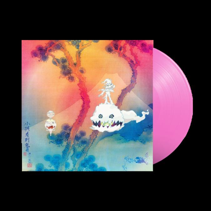 Kanye West and Kid Cudi: Kids See Ghosts: Limited Translucent Pink Vinyl LP