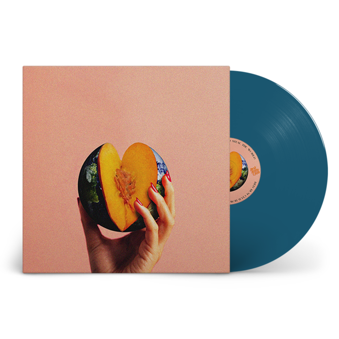 Red Rum Club: How To Steal The World: Signed Limited Edition Blue Vinyl LP