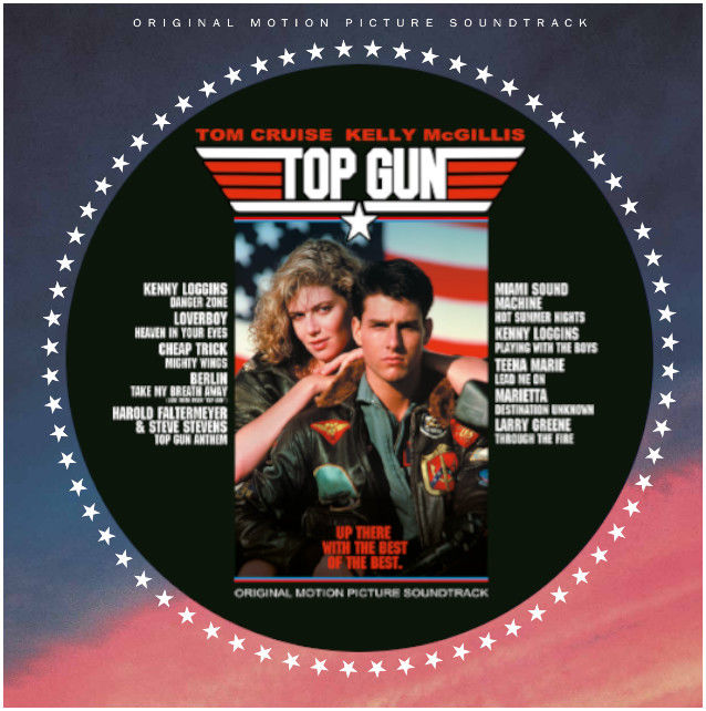 Original Soundtrack: Top Gun [OST]: Limited Edition Picture Disc [Die Cut Sleeve]