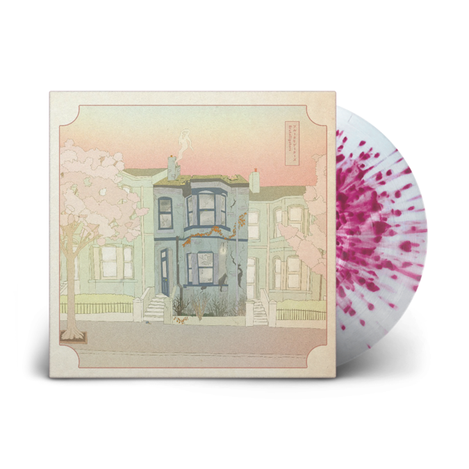 Brutalligators: This House Is Too Big, This House Is Too Small: Signed Recordstore Exclusive Milk White + Pink Splatter Vinyl LP