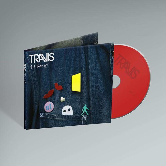 Travis: 10 Songs: CD + Signed Art Card