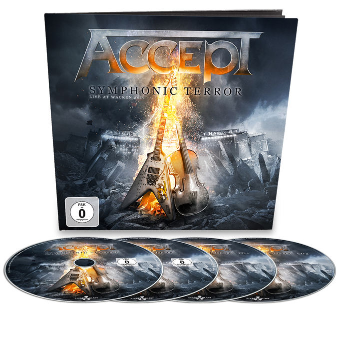 Accept: Symphonic Terror – Live At Wacken 2017: Limited Edition Blu-Ray/DVD/CD Earbook