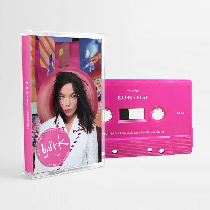 Björk: Post: Limited Edition Pink Cassette
